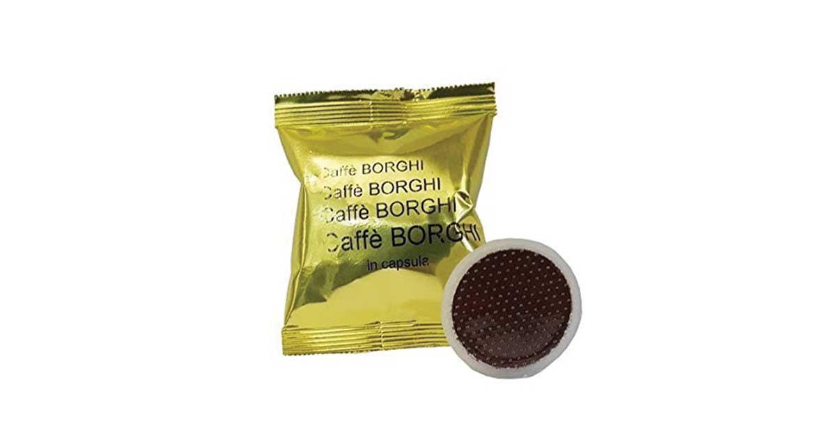100 Capsule Caffè Borghi Grand'Espresso compatibili Lavazza Espresso Point