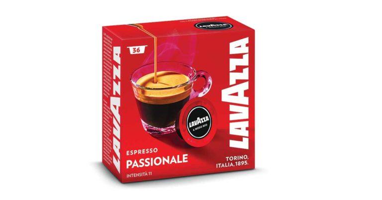Capsule Caffè A Modo Mio Espresso Passionale Lavazza