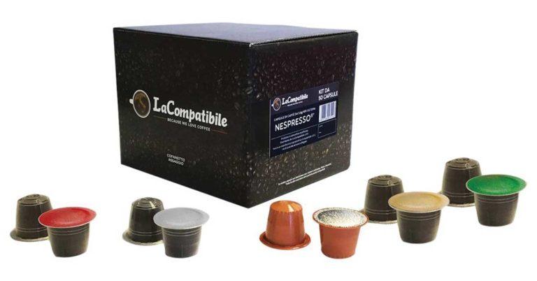 Capsule compatibili Nespresso cofanetto assaggio