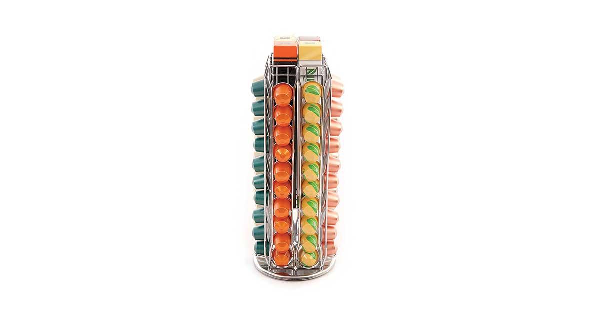 Distributore capsule Nespresso girevole