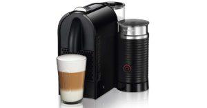 Macchina da caffè Nespresso U Milk con Aeroccino