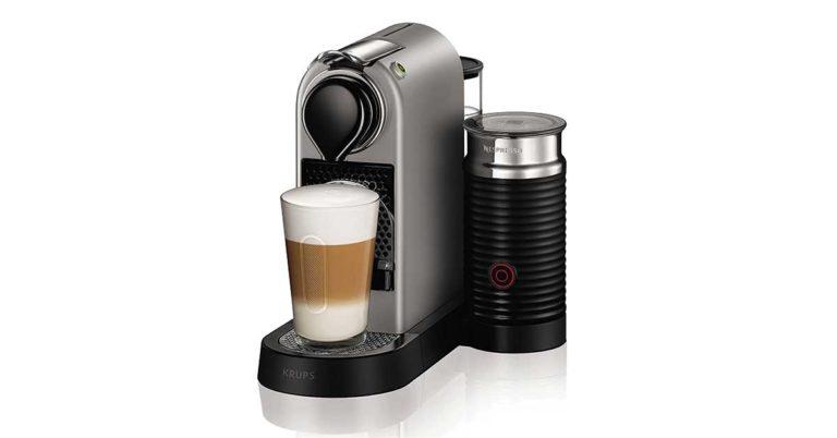 Macchina da caffè Nespresso XN760B Citiz & Milk