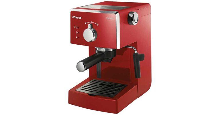 Macchina da caffè per caffè in cialde di carta Saeco Poemia Red HD8423/22