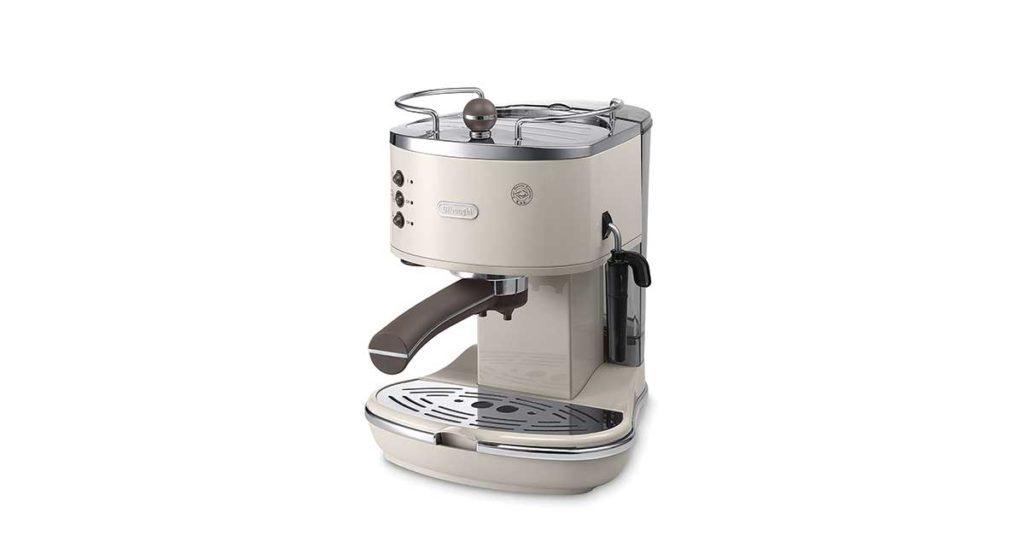 Macchina per caffè espresso con cialde di carta De Longhi ECOV311.BG Icona Vintage