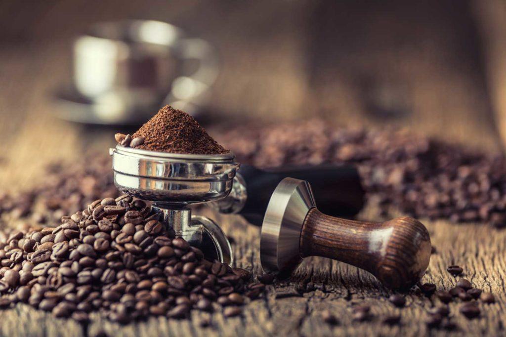 macchina da caffè per caffè in polvere