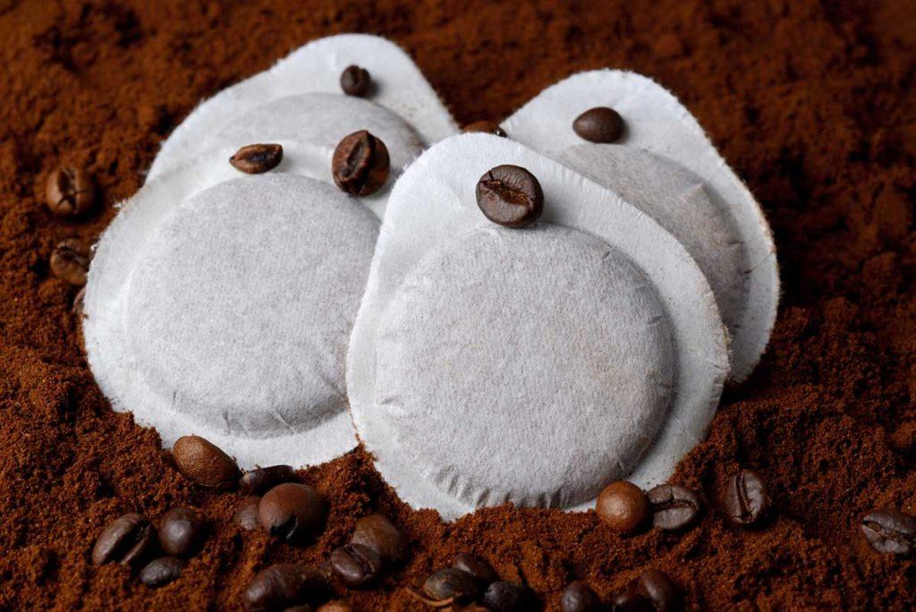 macchine da caffè in cialde di carta