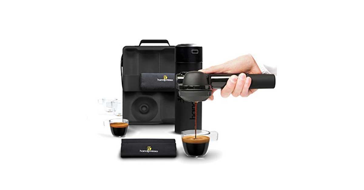 Macchina da caffè portatile Handpresso Wild Hybrid
