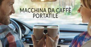 Macchina da caffè per auto