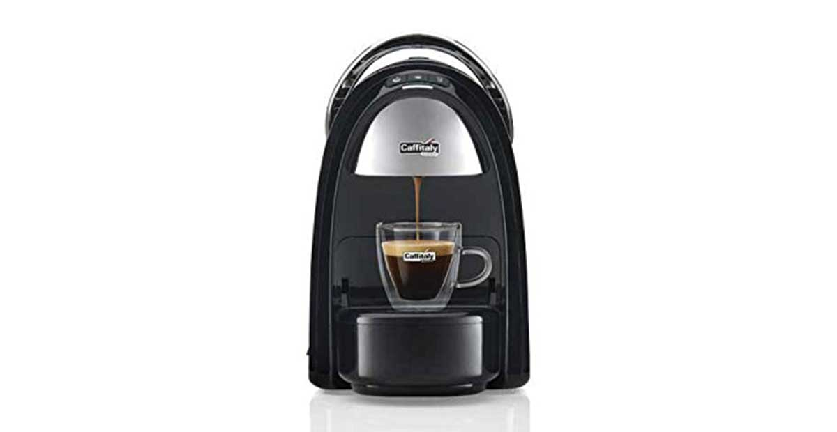 Macchina caffè Caffitaly Ambra S18 nera