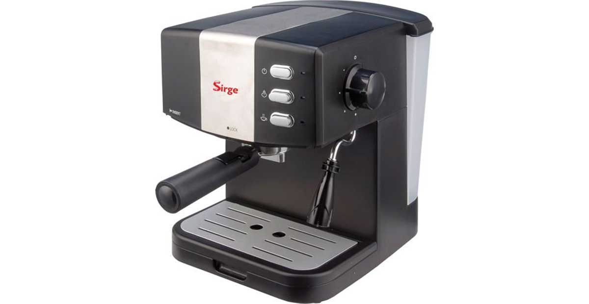 Sirge GRANBAR Macchina per Caffè Espresso e Cappuccino