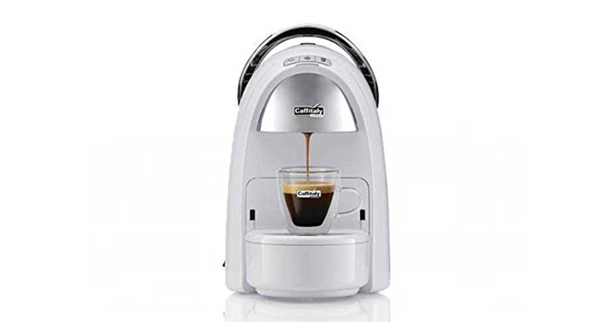 Macchina caffè Caffitaly Ambra S18 bianca