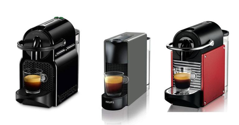 Comparazione macchine da caffè Nespresso