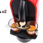 2 caffè con una capsula 2xcap